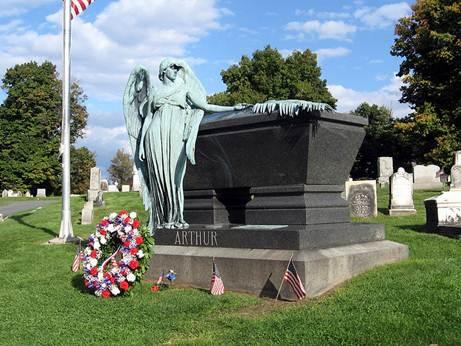 Chester A. Arthur Grave