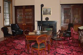 Buchanan's Library at Wheatland